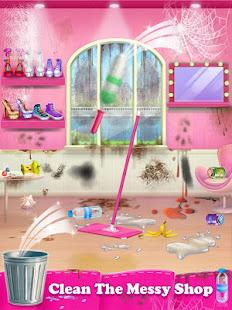 女の子と男の子のための靴ファッションデザイナースタジオゲーム
