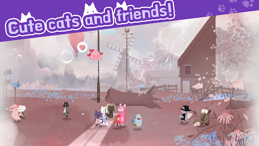 Cat Shelter and Animal Friends: Idle Relaxing Game  screenshots 1
