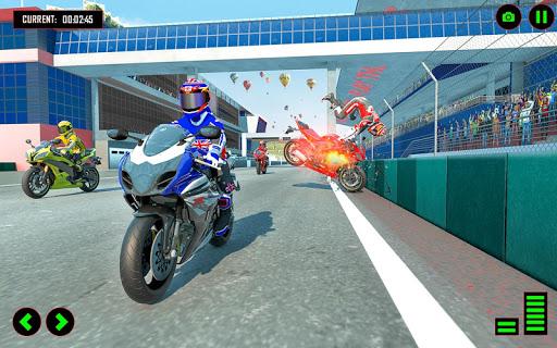 Superhero Speed Bike Racing: GT Mega Ramp Games 1.10 Screenshots 8