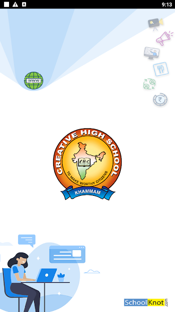 Creative School Parent App screenshot 2