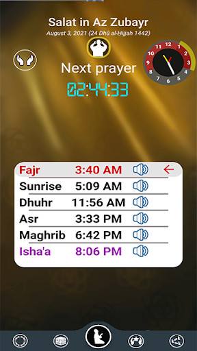 Prayer Timings Muslim Salatuk android2mod screenshots 1