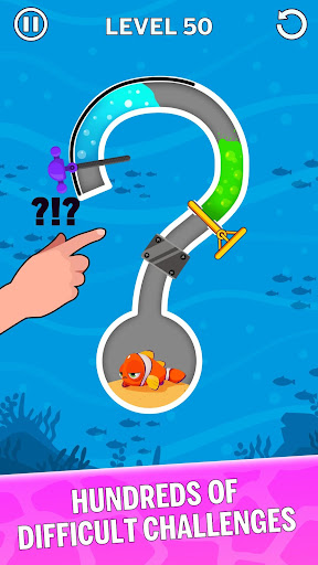 Water Puzzle - Fish Rescue & Pull The Pin 1.0.22 Screenshots 3