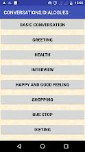 IMPROVE ENGLISH SPEAKING screenshot thumbnail