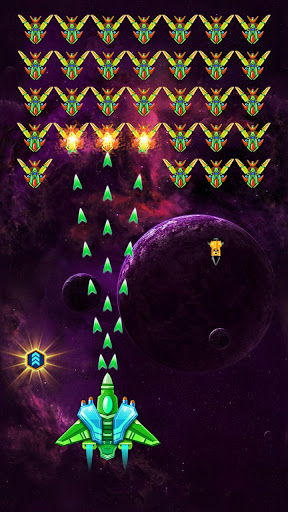 Galaxy Attack: Alien Shooter (Premium) android2mod screenshots 1