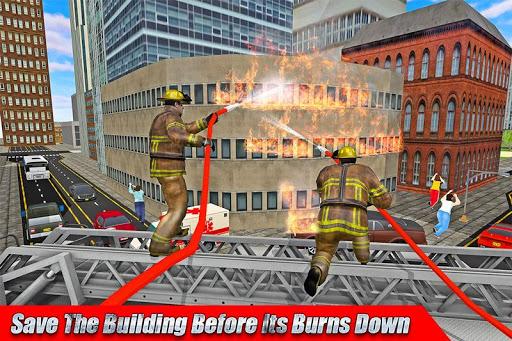 Télécharger 911 secours d'urgence-réponse simulateur jeux 3d APK MOD (Astuce) screenshots 1