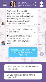 Hey Love Tim: High School Chat Story Mod Apk