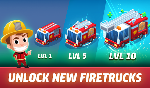 Idle Firefighter Tycoon - Fire Emergency Manager 0.14 screenshots 15