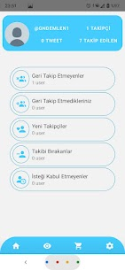 TUP – Twitter Unfollow ve Profilime Bakanlar 1