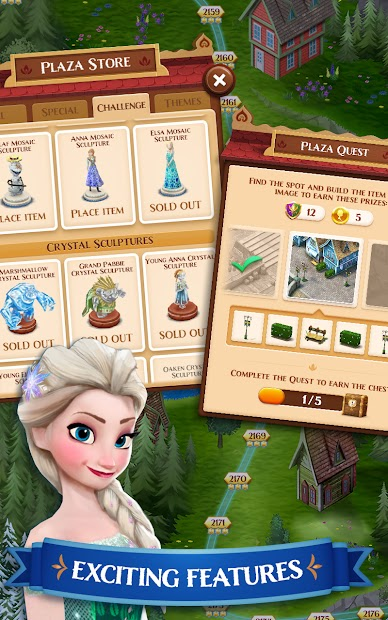Disney Frozen Free Fall - Play Frozen Puzzle Games screenshot 1