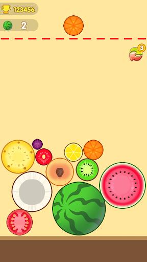 Big Watermelon Merge apkslow screenshots 5