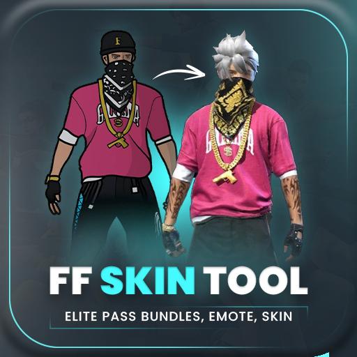 FFF FF Skin Tool, Elite pass Bundles, Emote, skin