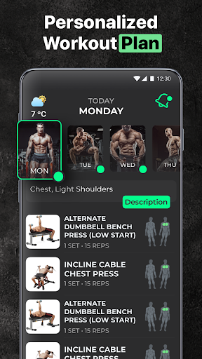 ProFit: Gym & Home Workout 2.5.1 Screenshots 2