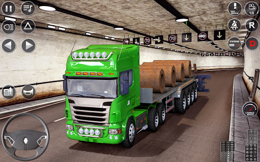 Euro Truck Driving Simulator 3D - Free Game  screenshots 5