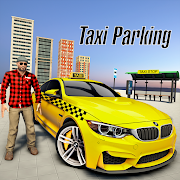 Crazy Taxi Parking Games: Yellow Cab Taxi Games