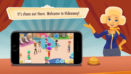 Hotel Hideaway: Virtual World APK MOD HACK (Dinero Ilimitado) 1
