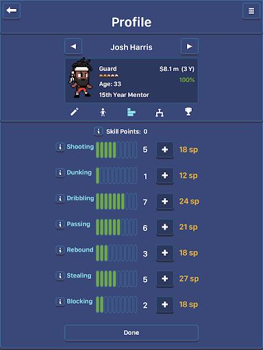 Hoop League Tactics  screenshots 16