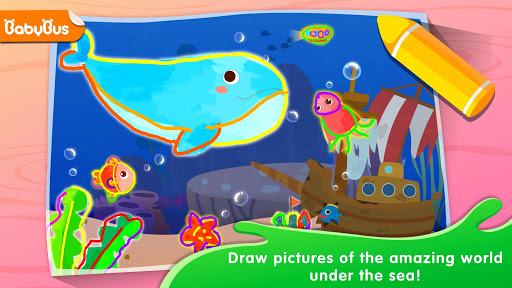 Baby Panda's Drawing Book - Painting for Kids screenshots 1
