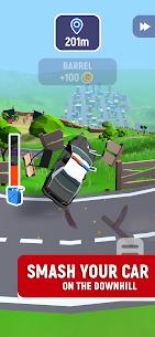 Crash Delivery! Destruction  smashing flying car! Apk Download 4