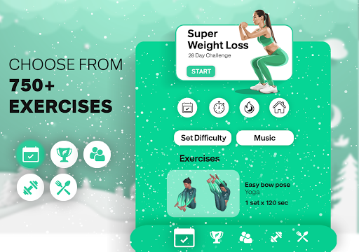 Fitonomy: Weight Loss Workouts at Home & Meal Plan 5.0.6 Screenshots 10