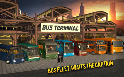 Coach Bus Simulator - City Bus Driving School Test 2.1 screenshots 24
