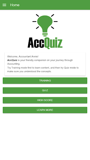 Accounting Quiz - AccQuiz 11.1.1 screenshots 1