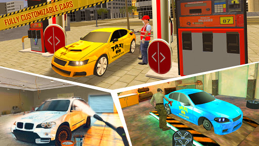 Taxi Sim Game free: Taxi Driver 3D - New 2021 Game apkslow screenshots 14