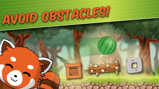 Red Panda: Casual Slingshot & Animal Logic Game  screenshots 2