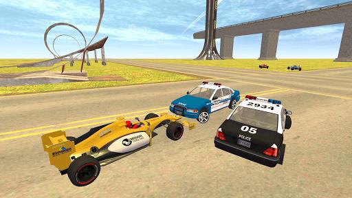 Formula Car Racing u2013 Police Chase Game 1.20 screenshots 5