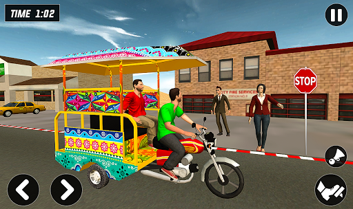 Chingchi Rickshaw Game:Tuk Tuk Parking Simulator screenshots 7