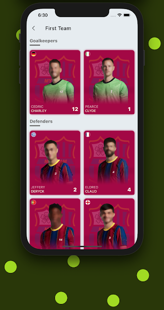My Team - Soccer - Football - cricket - demo screenshot 3