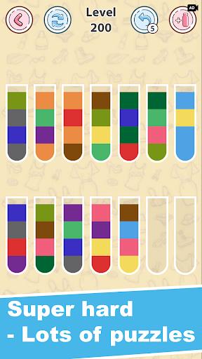 Sort Fashion: Watercolor  screenshots 6