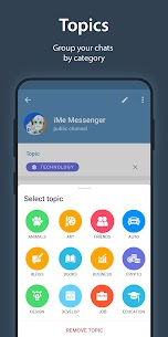 iMe Messenger & Crypto Wallet 4