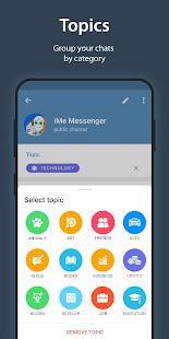 iMe Messenger & Crypto Wallet 7.9.3 Screenshots 4