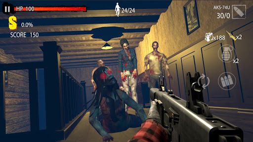 Zombie Hunter D-Day 1.0.804 screenshots 3