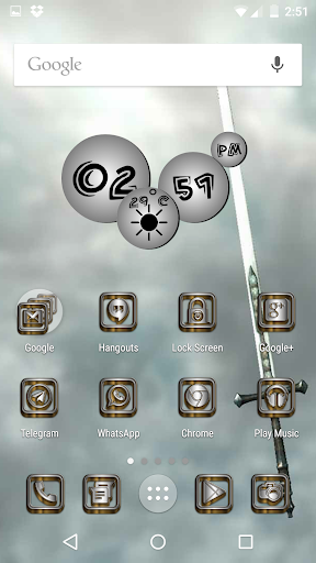 SilverGold 3D Icon CM&Launcher For PC Windows (7, 8, 10, 10X) & Mac Computer Image Number- 7