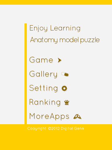 Enjoy Learning Anatomy puzzle 3.2.3 screenshots 10