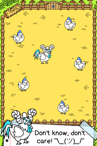 Chicken Evolution - ud83dudc13 Mutant Poultry Farm Clicker apkpoly screenshots 2