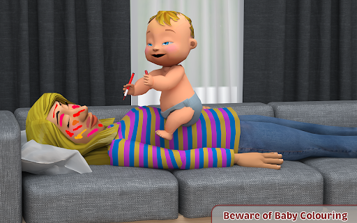 Virtual Baby Simulator Game: Baby Life Prank 2021  screenshots 10