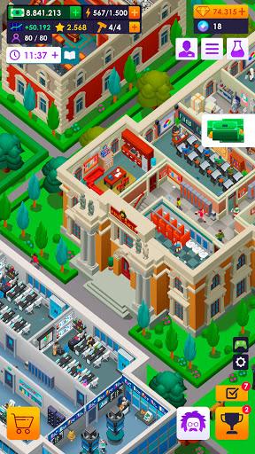 University Empire Tycoon - Idle Management Game 0.9.5 screenshots 5