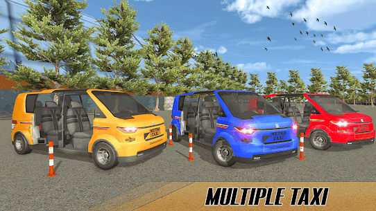 Modern Taxi Driving Game  City Airport Taxi Games Apk 3