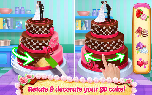 Real Cake Maker 3D - Bake, Design & Decorate  screenshots 1