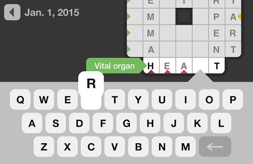 Daily Crosswords 1.6.0 screenshots 3
