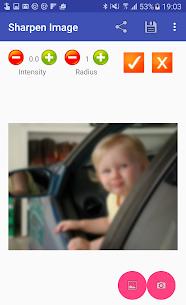 Sharpen Image MOD APK (Pro Feature Unlock) Download 5