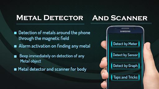 Metal Detector and EMF Scanner (Metal Detector)  screenshots 1