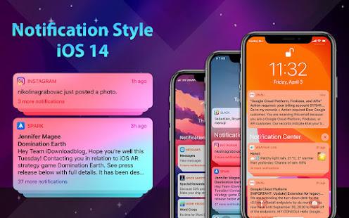 Phone 12 Launcher, OS 14 iLauncher, Control Center