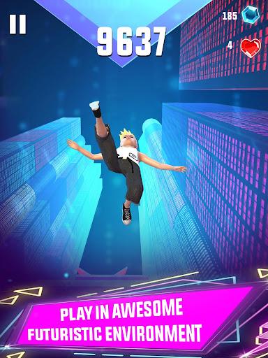 Sky Jumper: Parkour Mania Free Running Game 3D 2.0 screenshots 9