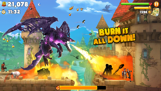 Hungry Dragon MOD APK (Unlimited Coins) 1