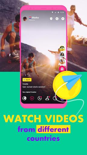 Ablo - Make friends worldwide apktram screenshots 4