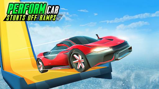 Mega Ramp Car Stunts: Crazy Car Racing Game  screenshots 1