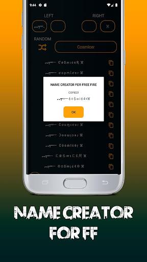 Name Creator For Free Fire u2013 Nickname Stylish 1.0 Screenshots 4